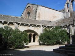 Abbaye de Montmajour: Innenhof