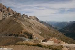 Alpen/Col du Galibier: Scheitelpunkt der Passstraße