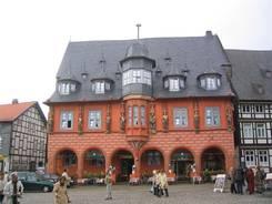 Auf dem Marktplatz in Goslar