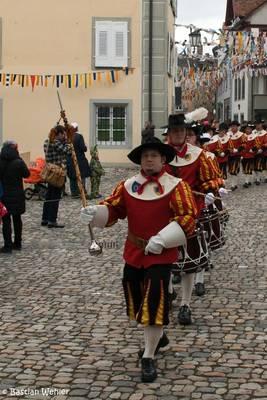 Auf den Großen Narrentreffen 2012 in Konstanz