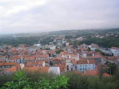 Ausblick über Châtel-Guyon