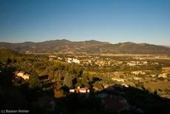 Ausblick über das Tal der Durance