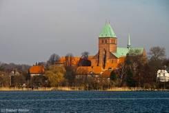 Ausblick über den See auf den Ratzeburger Dom