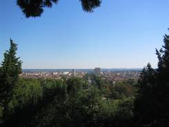 Ausblick über Nîmes