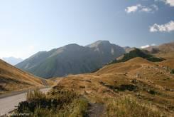 Ausblick vom Col de Vars Richtung Süden