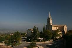 Ausblick von Bonnieux: Église Basse