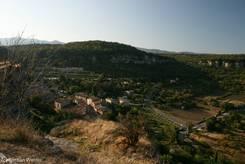 Ausblick von Saignon über den Luberon