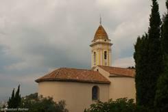 Barocke Kirche von La Turbie