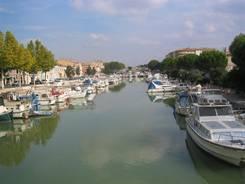 Beaucaire: Hafen