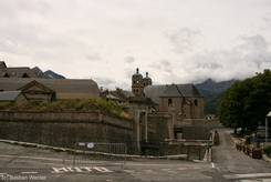 Blick auf die Altstadt von Briançon