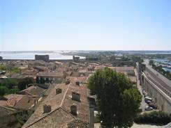 Blick über Aigues-Mortes