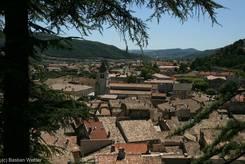 Blick über die Altstadt von Sisteron