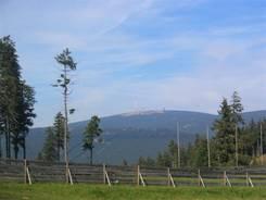 Blick vom Wurmberg Richtung Brocken