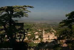 Blick von der Vieille Église über Bonnieux