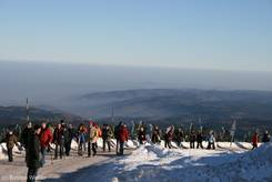 Brocken: Ausblick Richtung Wernigerode