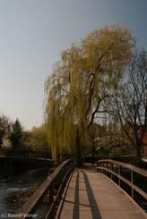 Brücken über Trave und Beste an deren Zusammenfluss