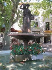 Brunnen in Uzès