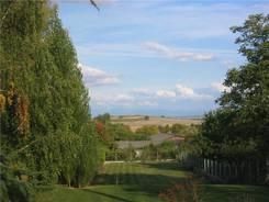 Châtel-Guyon: Ausblick auf einem Spaziergang in der Nähe des Campingplatzes