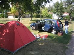 Châtel-Guyon: Campingplatz