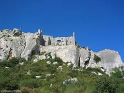 Das Château des Baux
