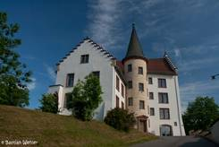 Das Krenkinger Schloss im Süden der Engener Altstadt