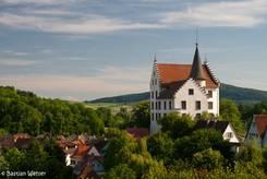 Das Krenkinger Schloss thront über Engen