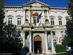 Das Rathaus (Hôtel de ville) von Avignon
