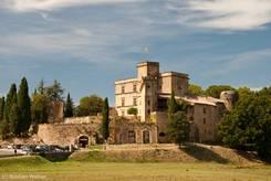 Das Schloss Château de Lourmarin