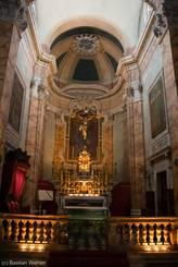 Das wunderbar geschmückte Innere der Kirche