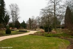 Der Stadtpark von Singen im Januar