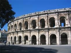 Die Arena von Nîmes
