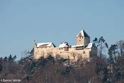 Die Burg Hohenklingen oberhalb von Stein am Rhein