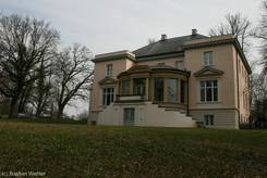 Die Eschenburgvilla, heute Teil der Musikhochschule Lübeck