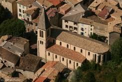 Die Gemeindekirche (Église paroissiale) von Castellane