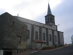 Die Kirche (Église Sainte-Anne) von Châtel-Guyon