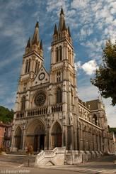 Die Kirche Saint-Bruno, das prägende Bauwerk in Voiron
