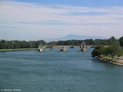 Die Pont Saint-Bénézet bzw. auch Pont d'Avignon genannt