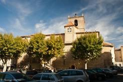 Die sehenswerte Kirche Notre-Dame de Romegas