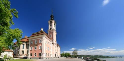 Die Wallfahrtskirche Birnau am Bodensee