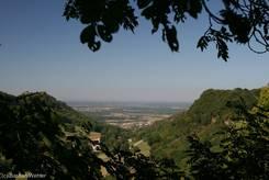 Franche-Comté/Jura: Ausblick auf Poligny