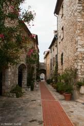 Gasse in der Altstadt von La Turbie