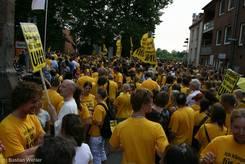 Großer Protest auch vor der Petrikirche