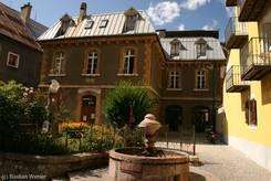 Haus in der Altstadt von Briançon