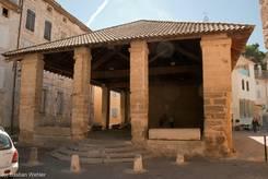 Historische Markthalle aus dem 17. Jahrhundert