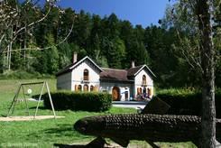 Jura: Forêt de la Joux/Forsthaus von Chevreuil