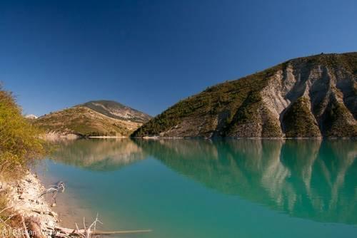 Lac de Castillon (Verdon/Frankreich)
