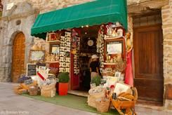 Laden für typisch provenzalische Andenken
