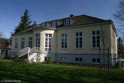 Lindesche Villa - Ansicht vom Garten hinter der Villa