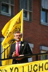 Lübecks Bürgermeister Bernd Saxe