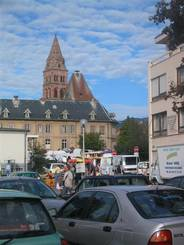 Marktplatz in Munster
